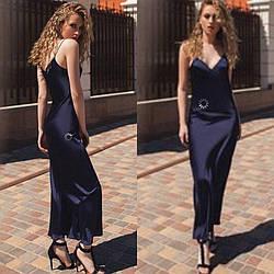 Платье комбинация из армани шелка