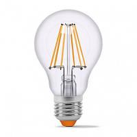 Лампа эдисона светодиодная VIDEX A60F 7W E27 4100K 220V