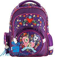 Ортопедический рюкзак для девочки-первоклассника Kite My Little Pony LP18-525S