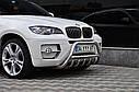 Защита переднего бампера (кенгурятник) BMW X5/X6 E71 (2007-2014), фото 2