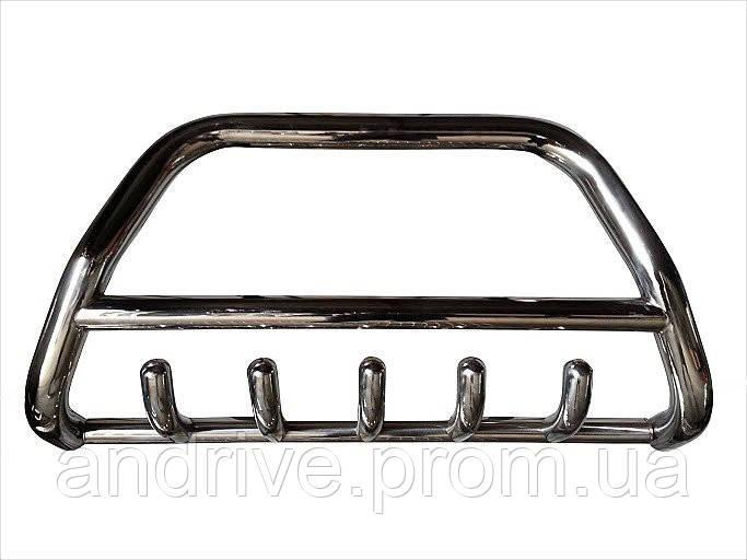 Защита переднего бампера (кенгурятник) Chevrolet Transport 2008+