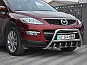 Кенгурятник с грилем (защита переднего бампера) Mazda CX-9 2006-2012, фото 2