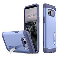 Чехол Spigen для Samsung S8 Plus Slim Armor, Violet (571CS21124), фото 1