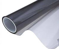 Премиум металлизированная тонировочная зеркальная плёнка 35 (Уголь/зеркало)