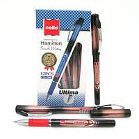 """Ручка масляная CL """"Ultitma"""" 0,7мм красная"""