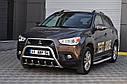 Защита переднего бампера (кенгурятник) Mitsubishi ASX (2010-), фото 2