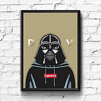 Постер с рамкой Star Wars Supreme #7