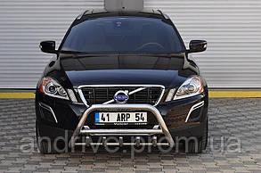Захист переднього бампера (кенгурятник) Volvo XC-60 2009+