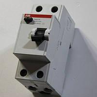 УЗО (устройство защитного отключения) 2 полюса 25А 30мА ABB