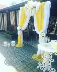 """Виїзна весільна церемонія """"Yellow wedding"""""""