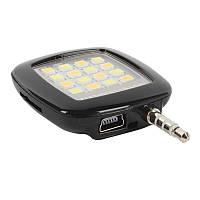 Светодиодная лампа для Фото TOTO LED Flash&Fill-Light (вспышка для селфи) Black
