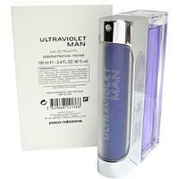Paco Rabanne Ultraviolet Man туалетная вода 100 ml. (Тестер Пако Рабанна Ультрафиолет Мен), фото 1