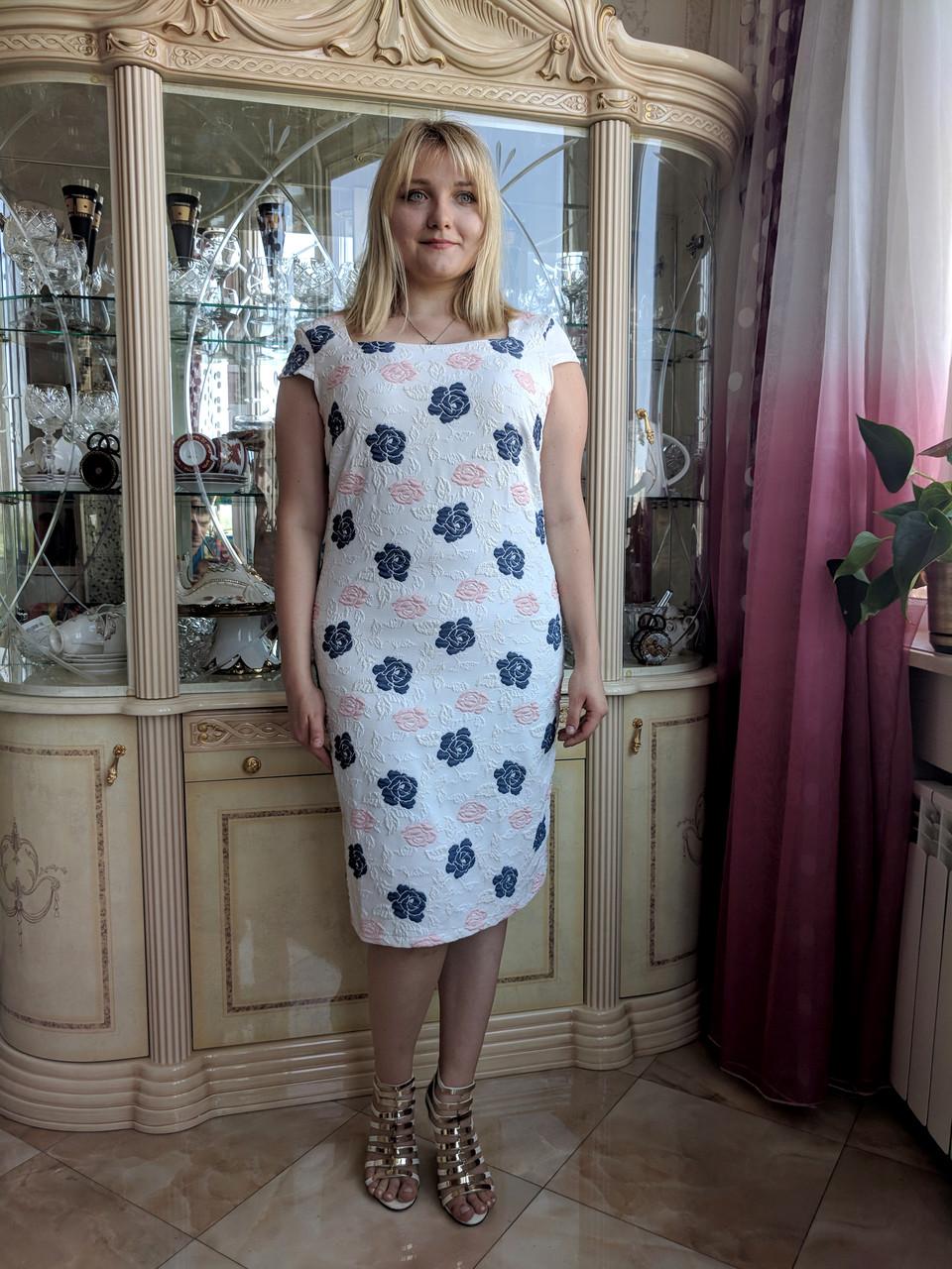 Платье Selta 739 размеры 50, 52, 54, 56