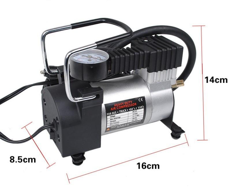 Автомобільний компресор (1063) 12 В, 120 Вт, 27литр/хв
