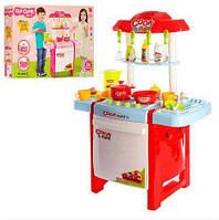 Кухня детская игровая 889-57-58. Свет, звук, продукты, посуда.