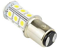 Автолампи світлодіодна P21W(1157)-18s5050 на 18 світлодіодів (білий і теплий білий)