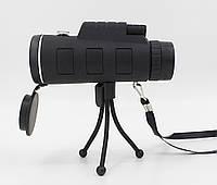 Монокуляр 40x60 HD Bushnell 1500-9500 m з подвійною фокусуванням, фото 1