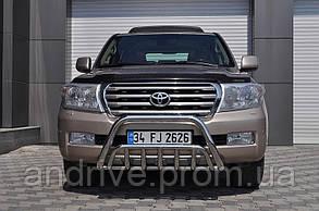 Кенгурятник двойной (защита переднего бампера) Toyota Land Cruiser 200 2007+