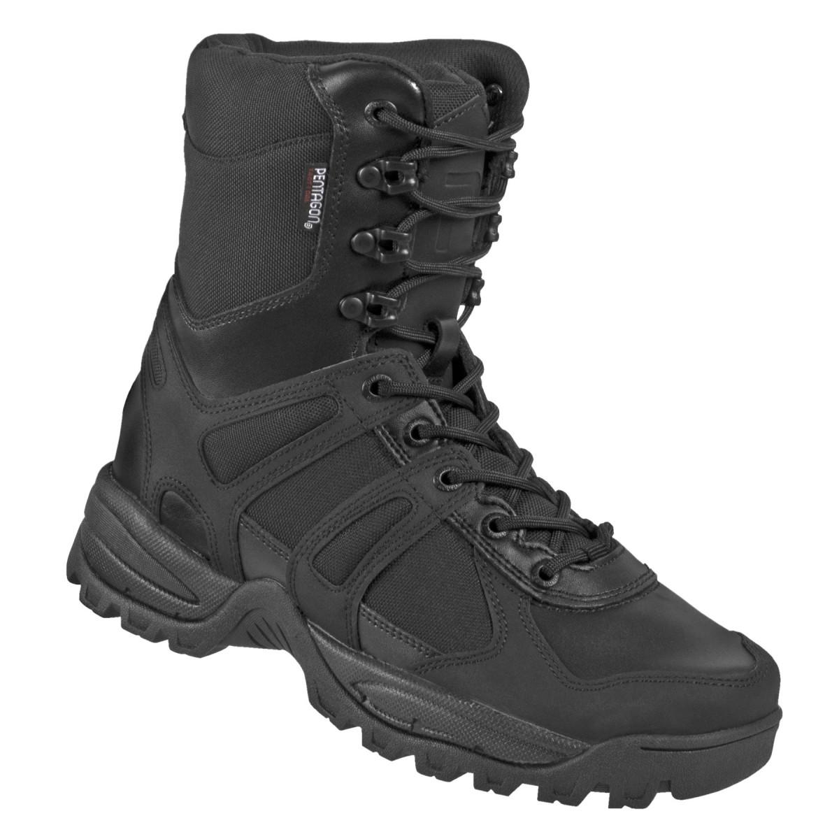 Тактичні черевики Pentagon Scorpion Boot Zip Black