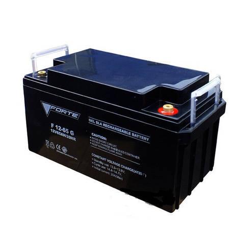 F12-7G акумулятор гелевий 12В, 7 А/год., вага 2,1кг, фото 2