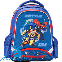 Ортопедический рюкзак для мальчика-первоклассника Kite Transformers TF17-517S, фото 1