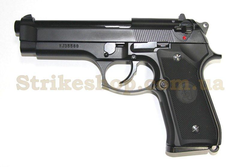 Пістолет Beretta M92F/M9 KJW Metal Green Gas