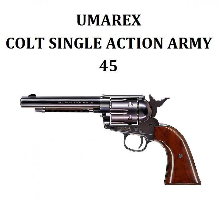 """Пневматический пистолет Umarex Colt Single Action Army 45 5.5"""" (Blue)"""
