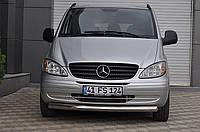 Защита переднего бампера (кенгурятник) Mercedes Vito 2003- /Ø60