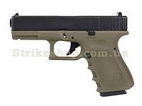 Пістолет Glock 32 KJW Metal Olive Green Gas, фото 1