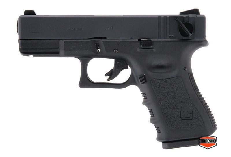 Пістолет Glock 23 Gen3 WE Metal Green Gas