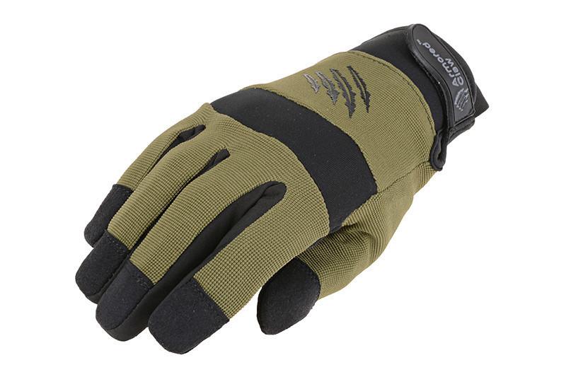Зимові тактичні рукавиці Armored Claw Shooter Cold OD