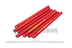 Карандаш Intertool - столярный 180 мм (12 шт.) красный