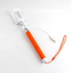 Монопод для Селфи UFT с Кнопкой и Кабелем 87 см Orange