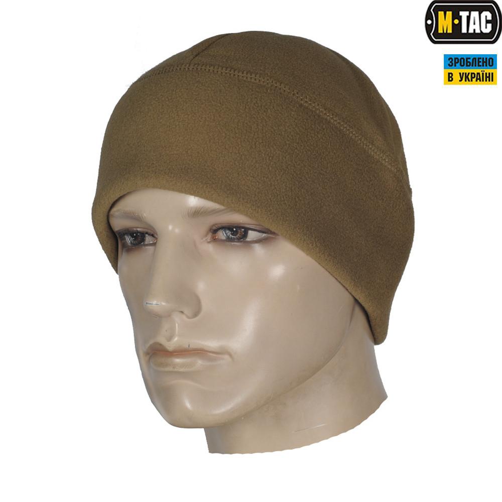M-TAC ШАПКА WATCH CAP ФЛІС/СІТКА WINDBLOCK 295 TAN