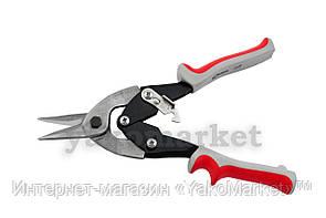 Ножницы по металлу Intertool - 250 мм, прямые
