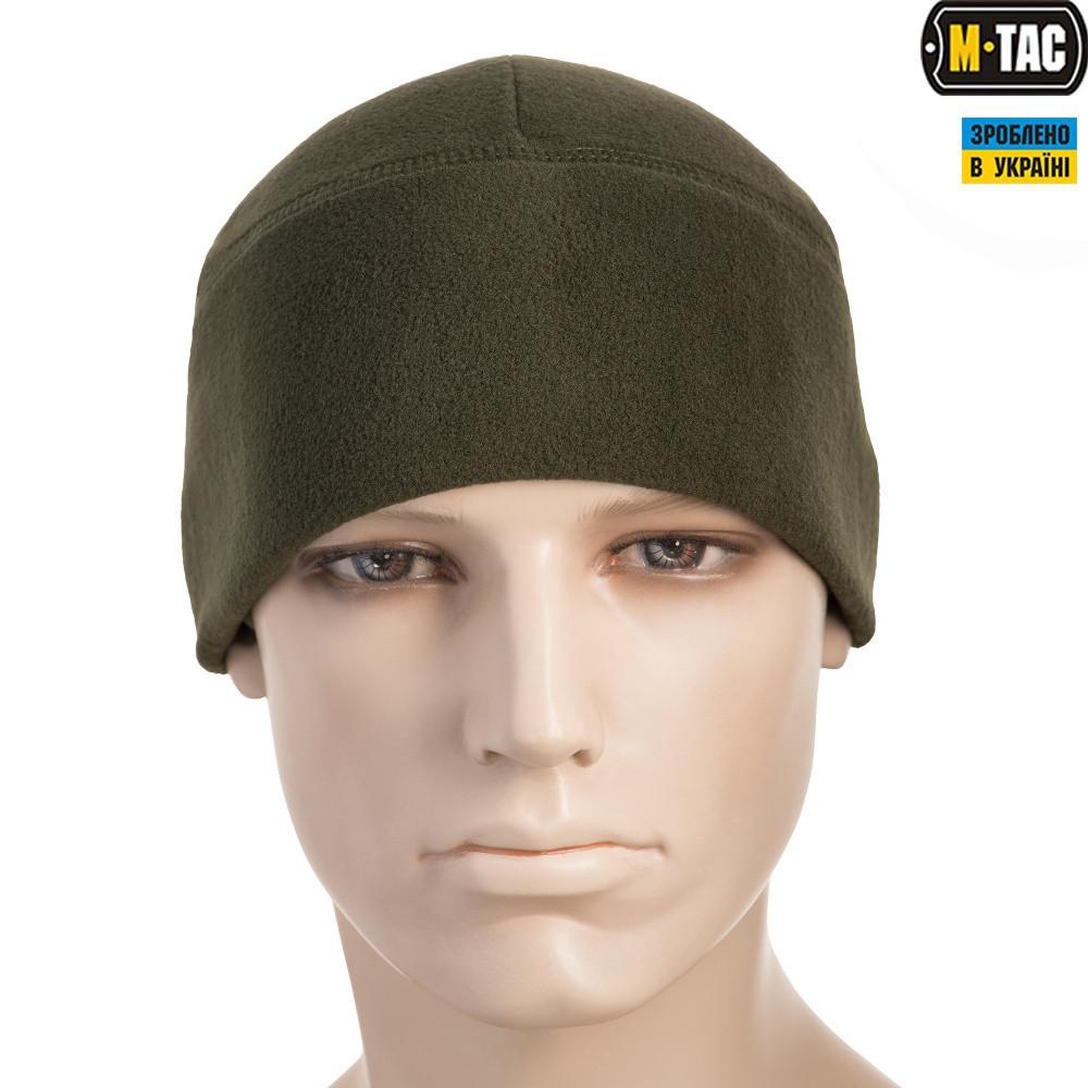 M-TAC ШАПКА WATCH CAP ФЛІС (330Г/М2) ОЛИВА