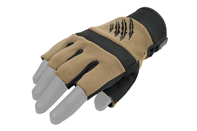 Тактичні рукавиці Armored Claw Shooter Cut Half TAN