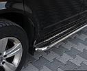 Пороги боковые Chevrolet Captiva 2006- /Ø50, фото 2