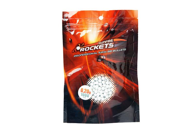 Кулі Rockets Professional 0,20g 1000 szt.