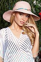 Соломенная шляпа Gepur Brazil широкополая, пляжная шляпа, шляпка