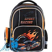 Ортопедический рюкзак для мальчика-первоклассника Kite Sport racing K18-514S