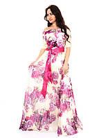 Шикарне довге плаття в підлогу 2205 36, 38, 40, 42