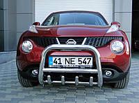 Защита переднего бампера (кенгурятник) Nissan Juke 2010+