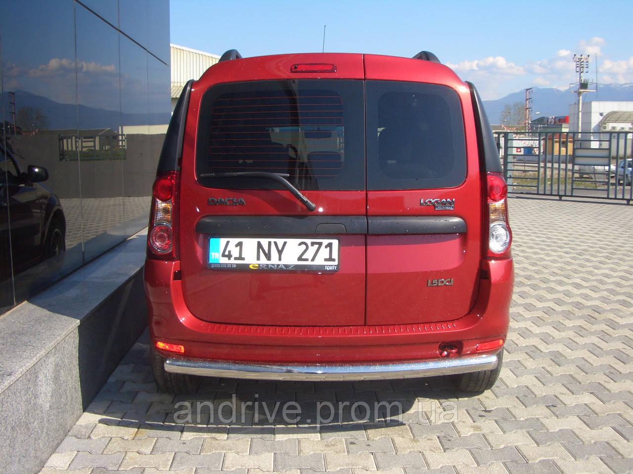 Защита задняя Dacia/Renault Logan MCV 05+ /ровная