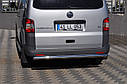 Защита задняя Volkswagen  T-5  /ровная, фото 4