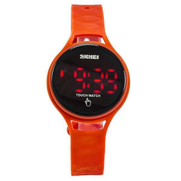 Спортивні годинник Skmei 1230 червоні сенсорні Водостійкість: 3 АТМ