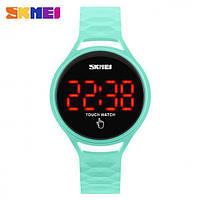 Спортивные сенсорные часы Skmei 1230 зеленые Водонепроницаемость: 3 АТМ , фото 1