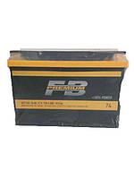 Аккумулятор автомобильный FireBall Premium 6СТ-74A, 74 А/ч, 720 A, правый +