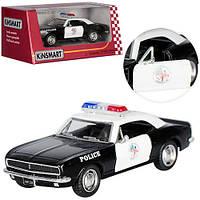 Машинка KT 5341 WP, металл, инерционная, полиция, 1:37, 12, 5см, откр. дв, рез.колес, в коробке, 16-7-8см
