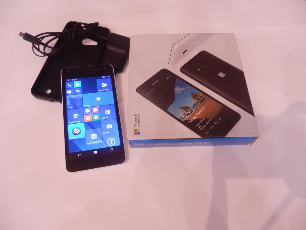 Мобильный телефон  Microsoft lumia 550 №4855